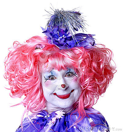 Free Female Fairy Clown Stock Photo - 1578370