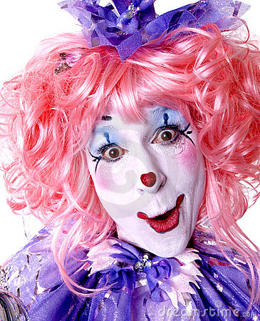 Free Female Fairy Clown Royalty Free Stock Photos - 1578378