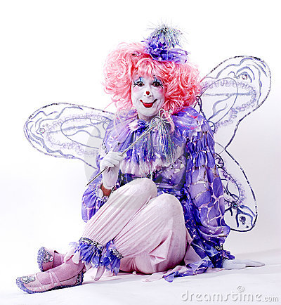 Free Female Fairy Clown Stock Photography - 1578412