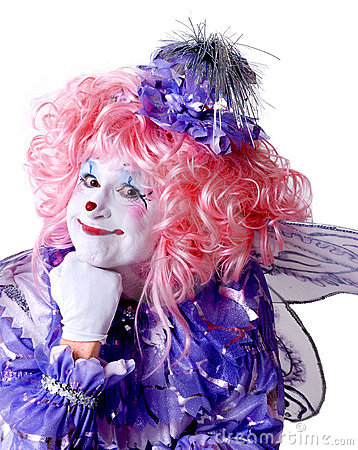Free Female Fairy Clown Stock Photos - 1578473