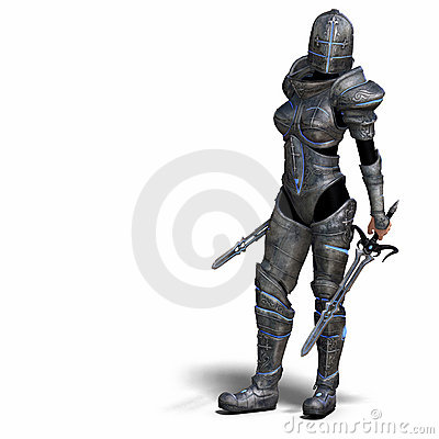 Female Fantasy Knight