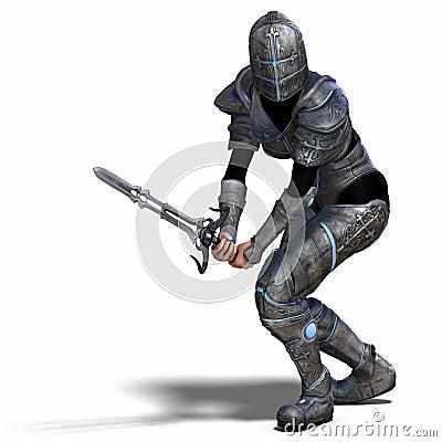Free Female Fantasy Knight Stock Photos - 9269123