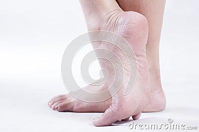 Female Feet Stock Photo