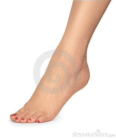 Free Female Foot Royalty Free Stock Image - 1142936