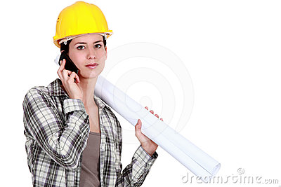 Female foreman