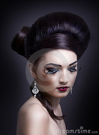 Female glamour portrait