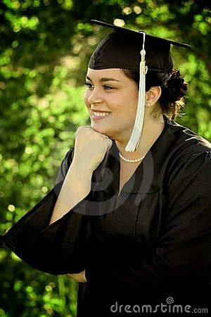 Female Graduating