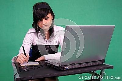 Female Graphic Designer
