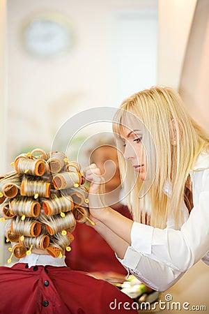 Free Female Hairdresser Royalty Free Stock Photo - 8592865