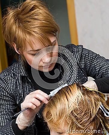 Female Hairstylist