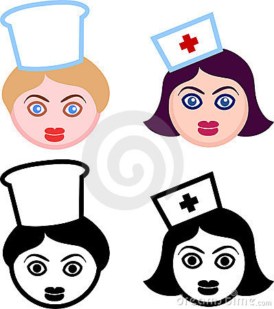 Female Heads of Nurses and Chefs