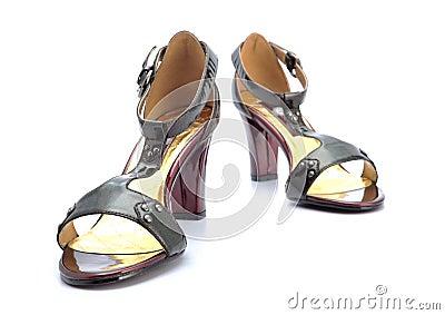 Female high-heeled