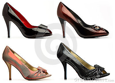 Female high-heeled shoes