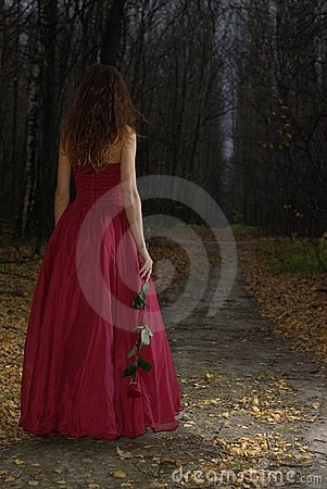 Free Female In Forest Royalty Free Stock Images - 13408969