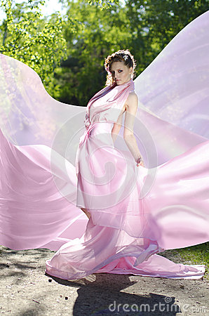 Free Female In Pink Royalty Free Stock Photography - 25032697