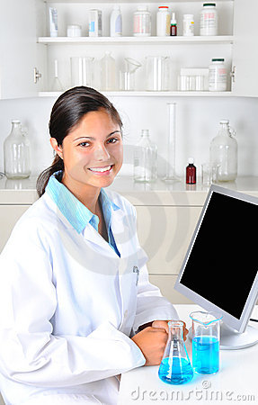 Female Lab Technician