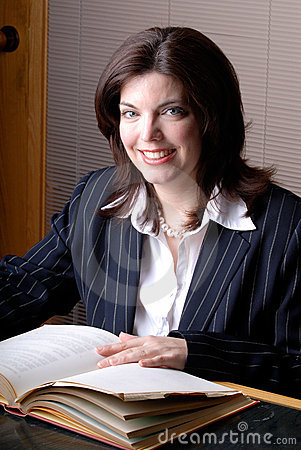 Free Female Lawyer Royalty Free Stock Photography - 2187267