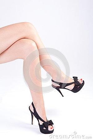 Free Female Legs Royalty Free Stock Images - 25566059