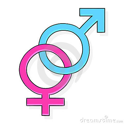 Female & Male Symbol Illustration