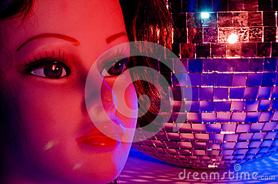 Female Mannequin and Disco Ball 5