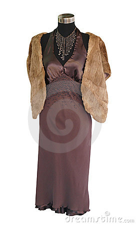 Female Mannequin in Formal Attire