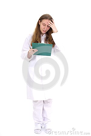 Free Female Medical Doctor Stock Photography - 30402092