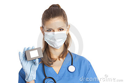 Female medical specialist