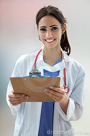 Free Female Medical Student Royalty Free Stock Images - 19727389