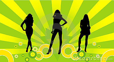Female models vector