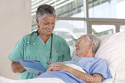 Female Nurse And Patient Royalty Free Stock Images - Image ...