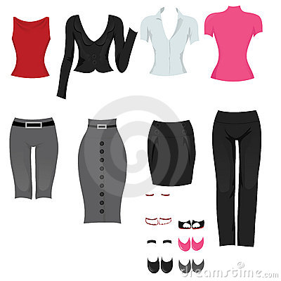 Female office clothes