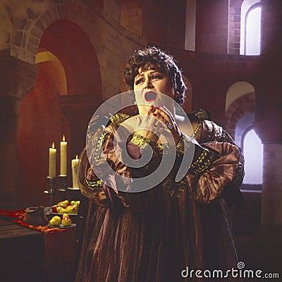 Free Female Opera Singer_3 Royalty Free Stock Photo - 6020595