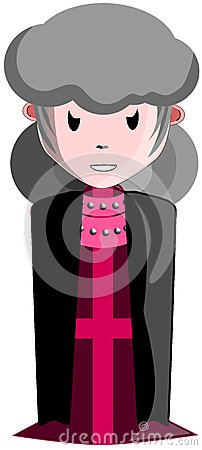Female priest of Lucifer
