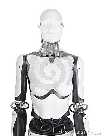 Free Female Robot Mannequin Torso Royalty Free Stock Photo - 93124805