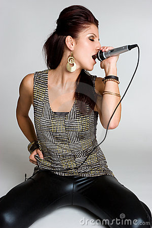 Female Rockstar Singer