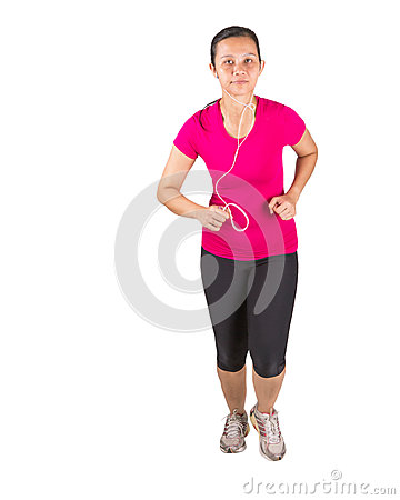 Female Running II