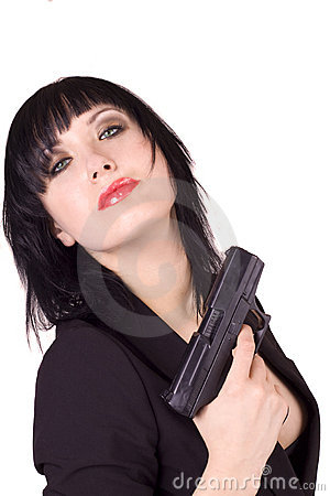 Female Russian Agent Stock Photos - Image: 13419673