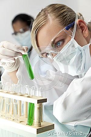 Female Scientific Research Team