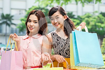 Female shopping