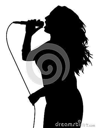 Free Female Singing Stock Images - 4678374