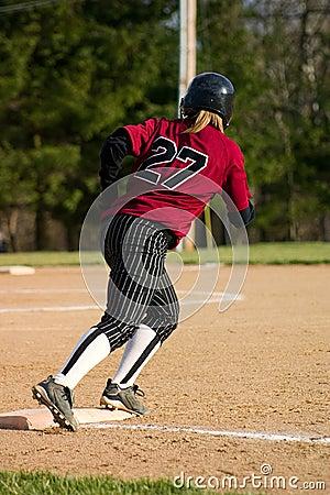 Free Female Softball Player Stock Photos - 868833