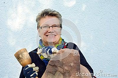 Female Stonemason