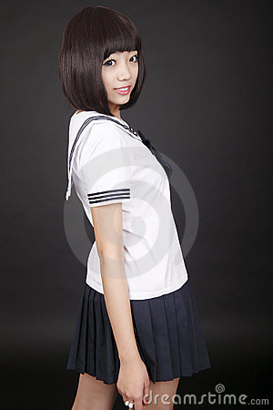Female student.