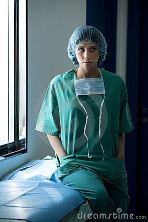Female Surgeon Royalty Free Stock Photo - Image: 18252965