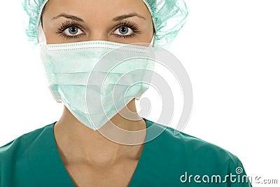 Female surgeon