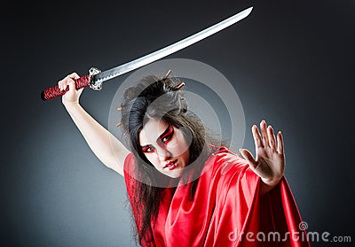 Female sword warrior