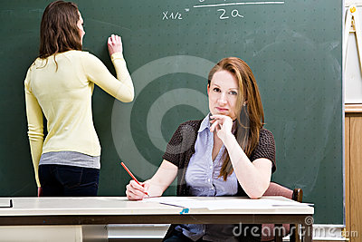 Female teacher