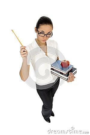 Free Female Teacher Stock Image - 6949051