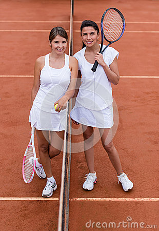 Female tennis players