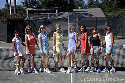 Female tennis team